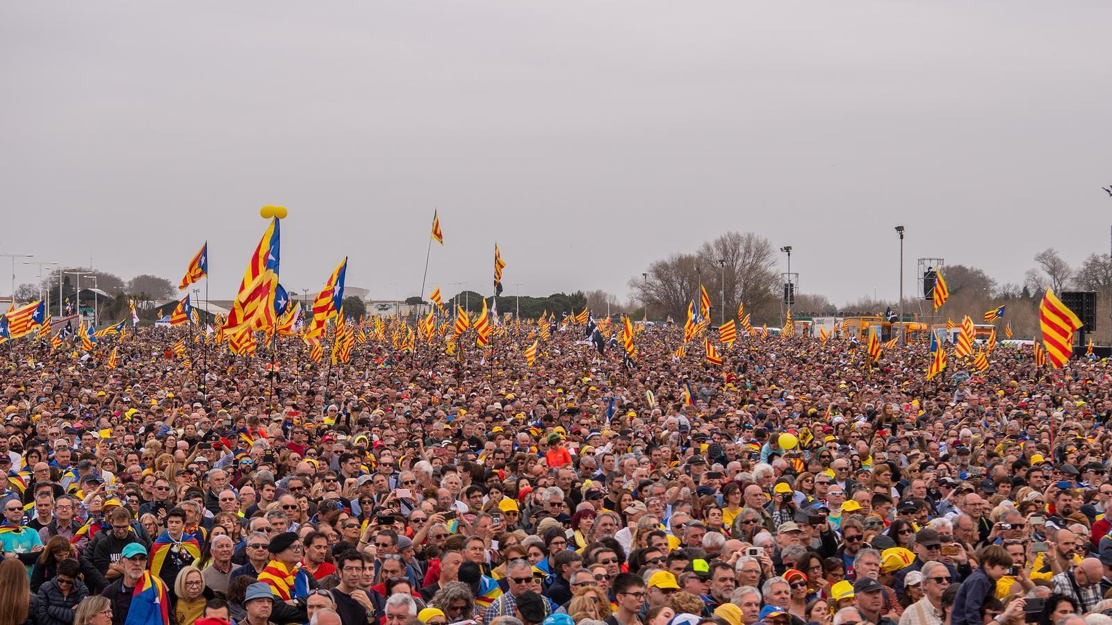 L'Acte massiu a Perpinyà de l'expresident, de Perpinyà en imatges