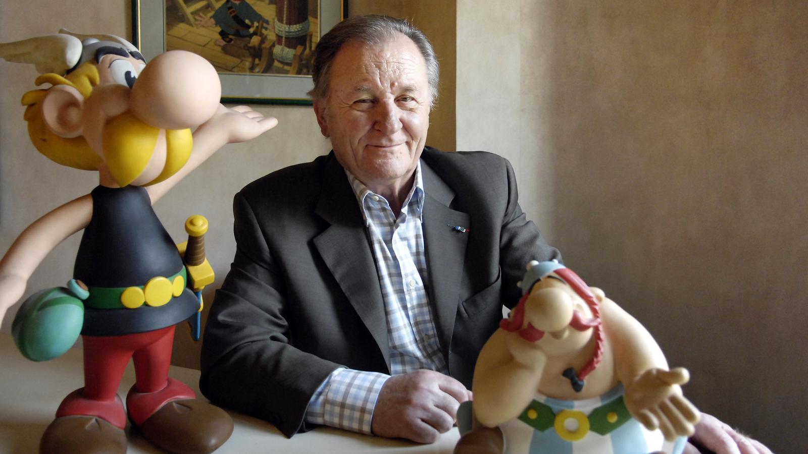 Mor Albert Uderzo, el pare d'Astèrix