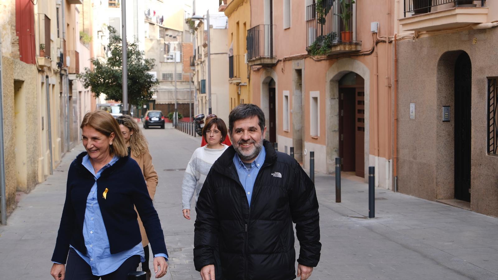 Jordi Sànchez surt de la presó per fer un voluntariat