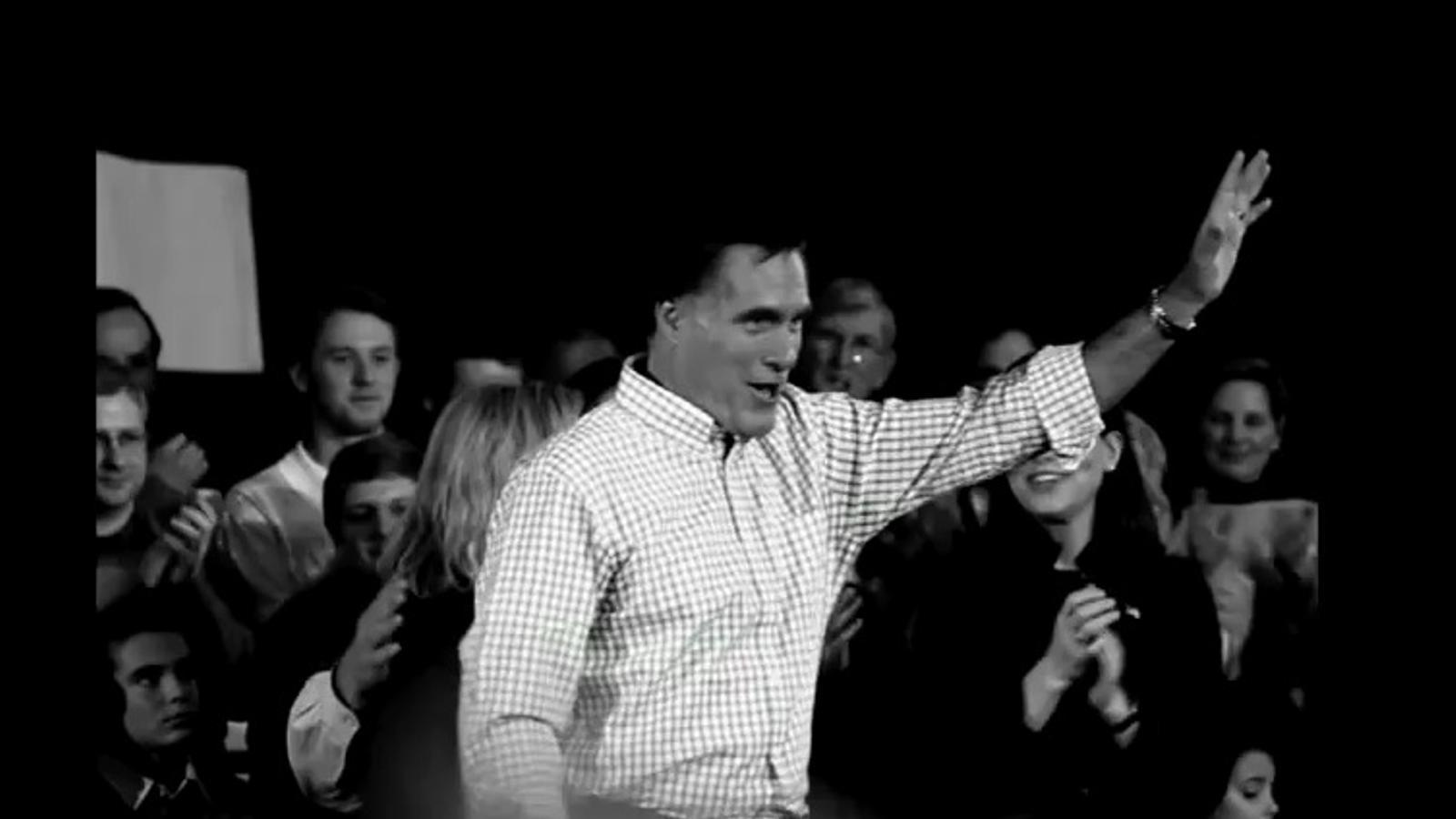 Un fals espot compara Mitt Romney amb el protagonista de 'The Artist'