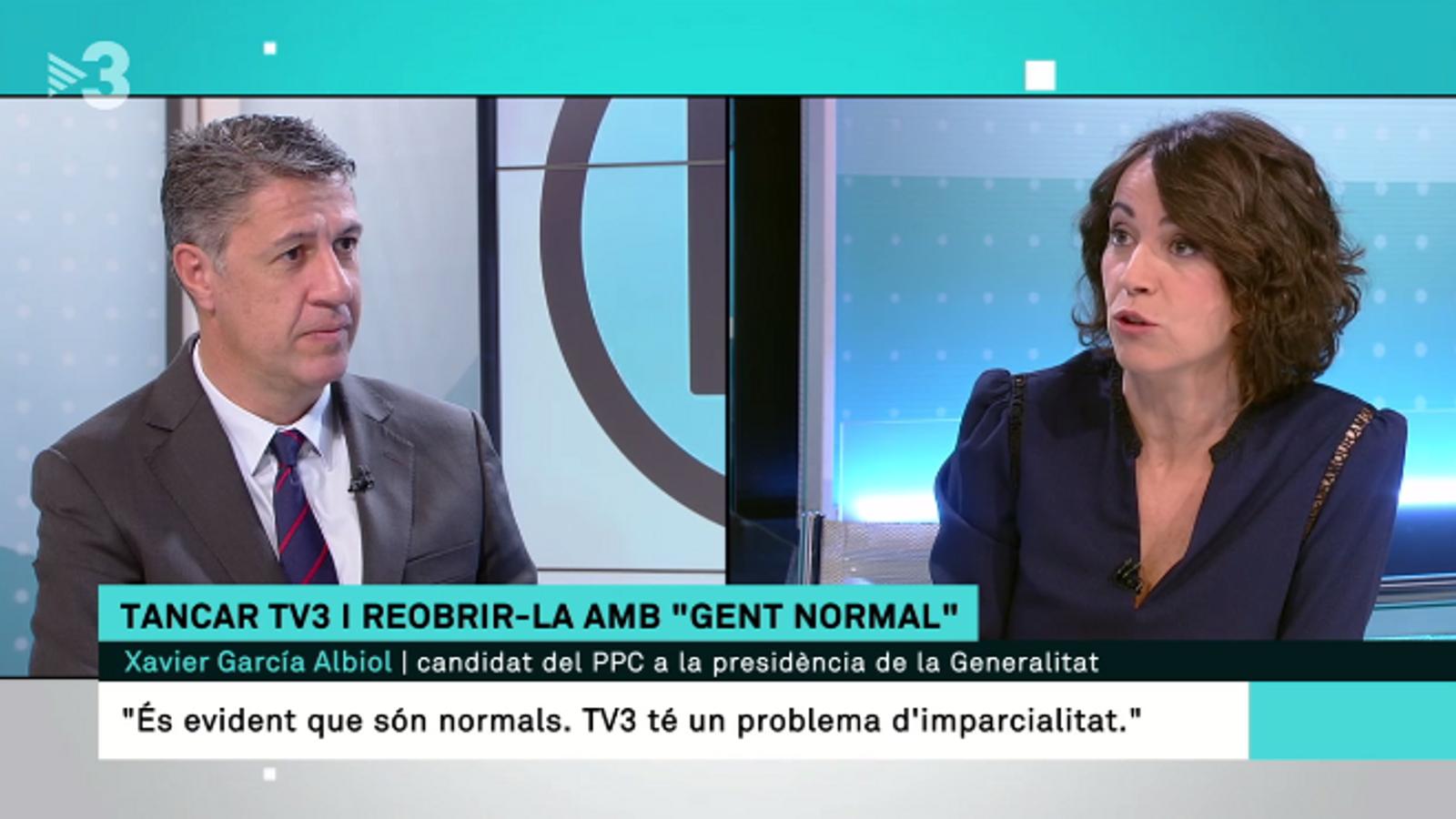 Batalla dialèctica entre Lídia Heredia i Albiol sobre la imparcialitat de TV3