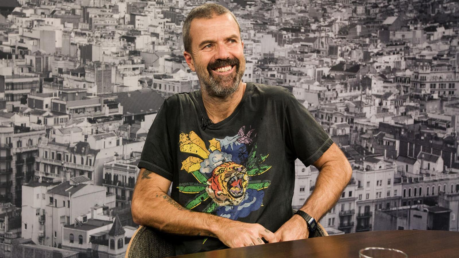 Pau Donés el 2018 en una conversa amb Antoni Bassas