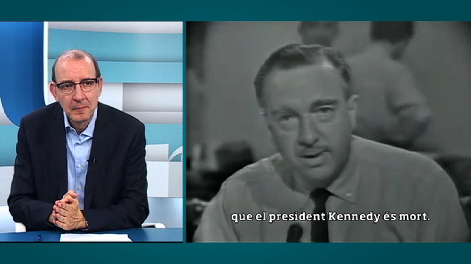 Un magnicidi televisat (2): Des de Dallas, notícia d'última hora, el president Kennedy ha mort
