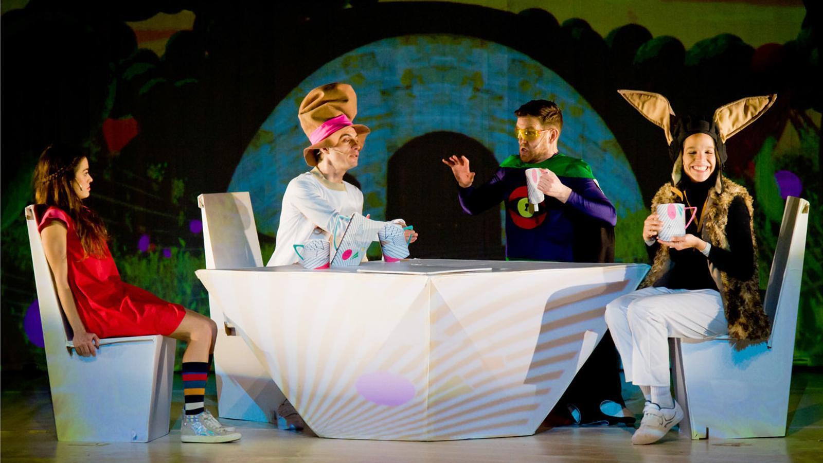 Una imatge del musical de la companyia 'Viu el teatre'. / Comú d'Encamp