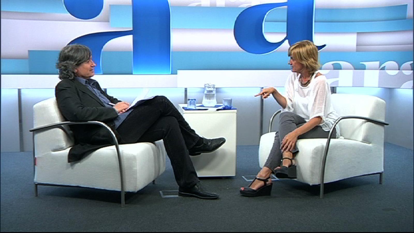 Gemma Nierga: La ràdio em va acabar trobant, jo en realitat em vaig enamorar de la paraula 'periodista'