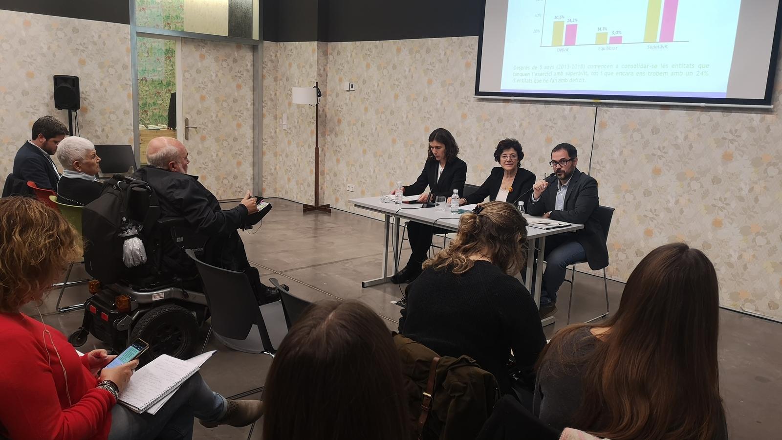 Presentació de les dades del 'Baròmetre del Tercer Sector'