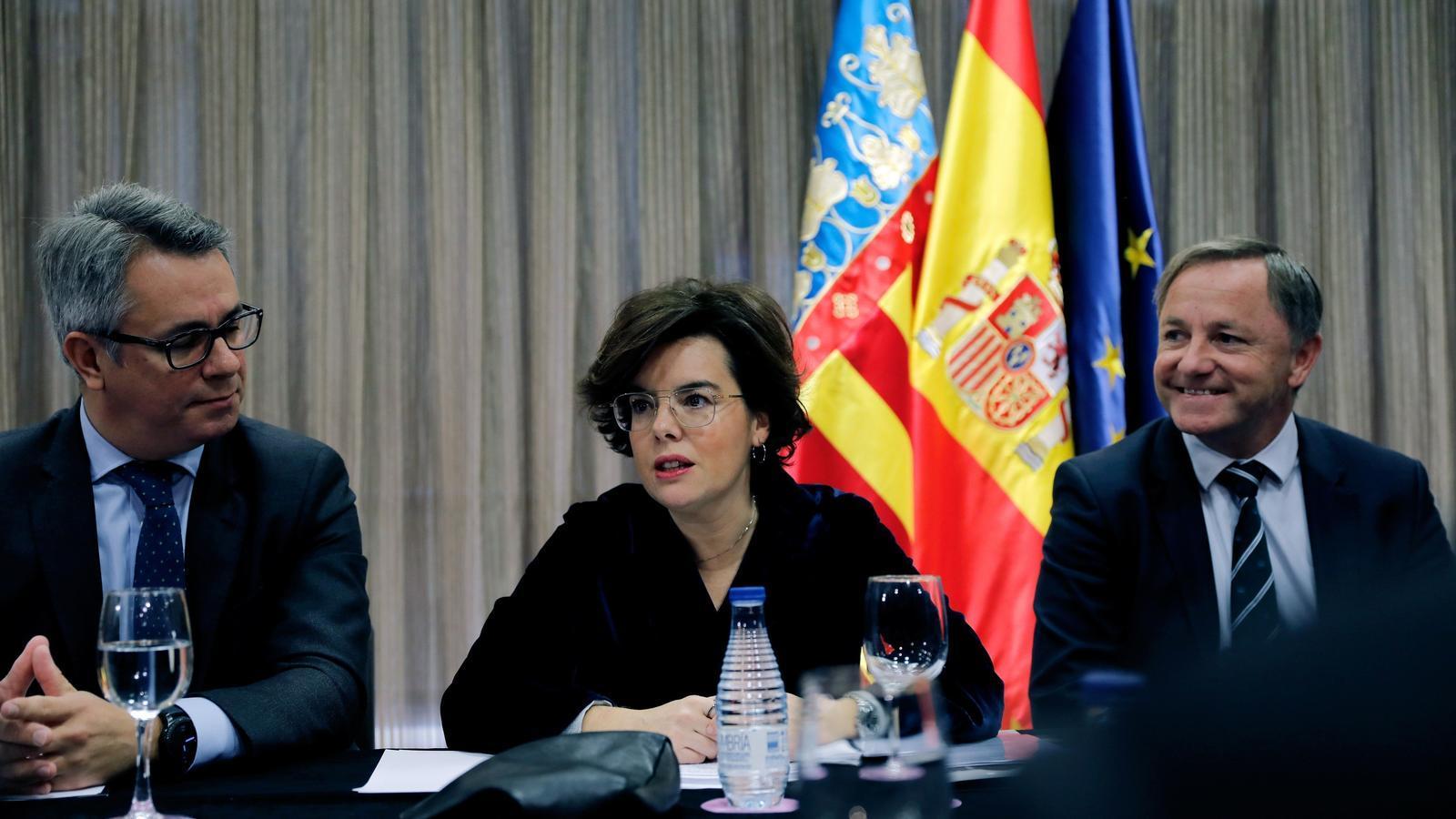 Els empresaris valencians reclamen als partits que donin suport als pressupostos a canvi d'inversions i finançament