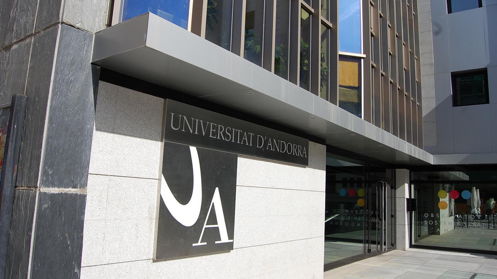 Façana de l'edifici de la Universitat d'Andorra. / ARXIU ANA