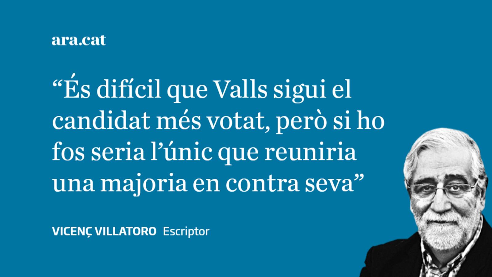 24/3: Valls no serà alcalde