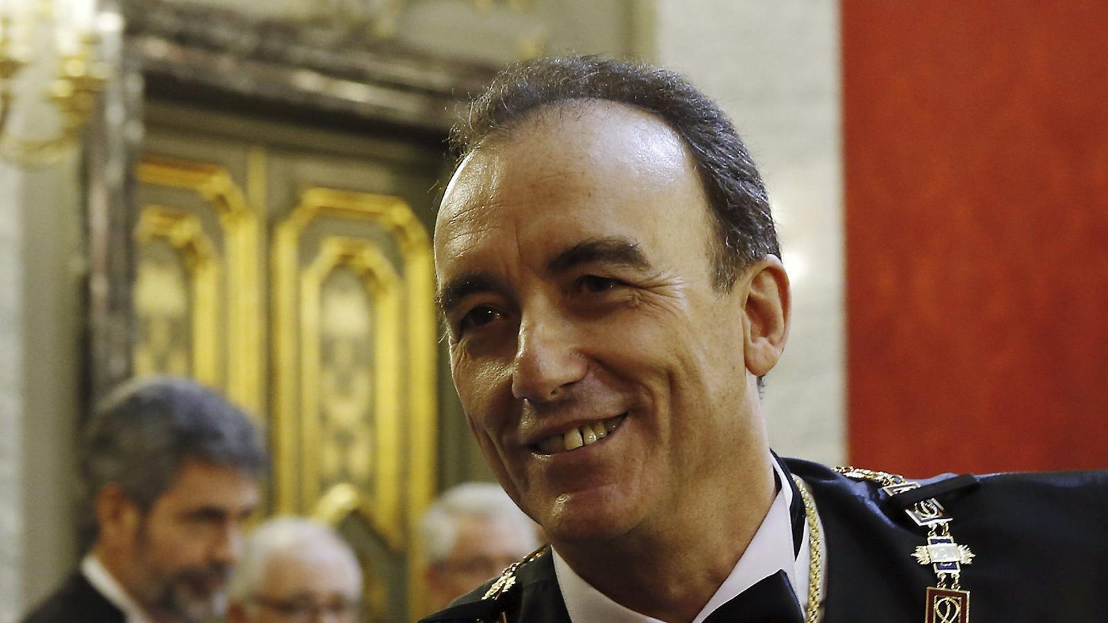 El president de la sala segona del Tribunal Suprem, Manuel Marchena, en una imatge d'arxiu.