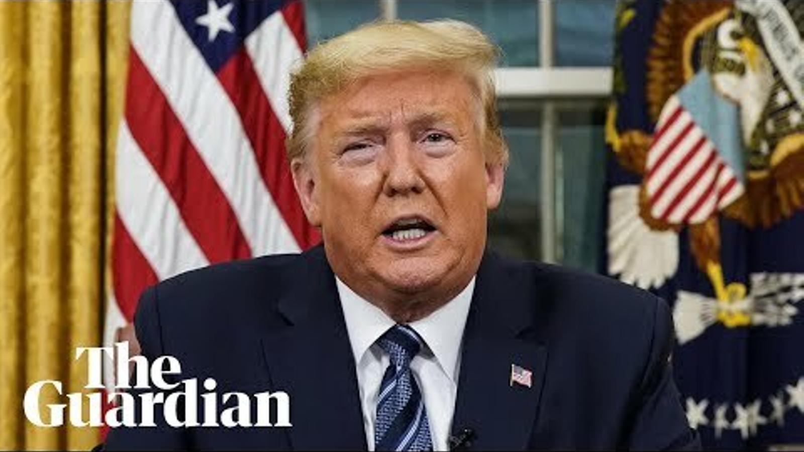 Trump anuncia les restriccions de viatges des d'Europa als Estats Units