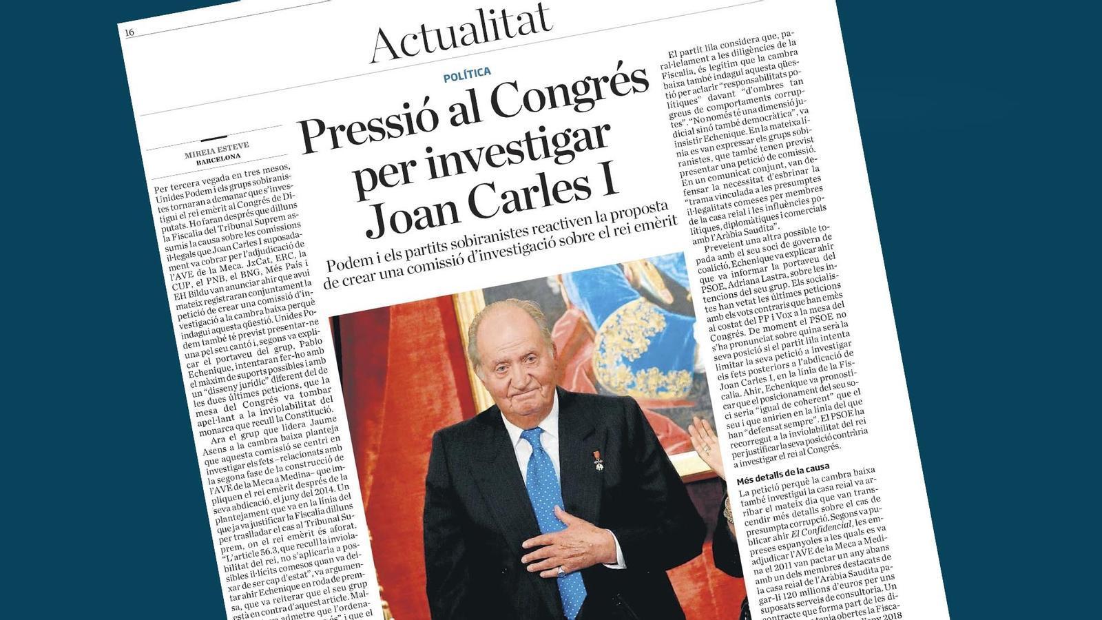 L'anàlisi d'Antoni Bassas: 'Joan Carles, més que un rei'