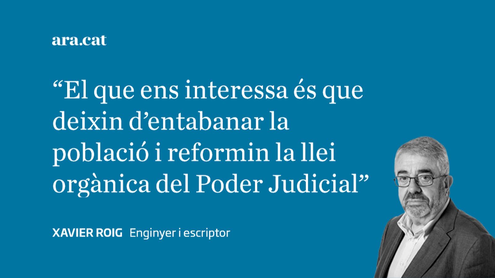 Poder Judicial, nova operació de distracció política
