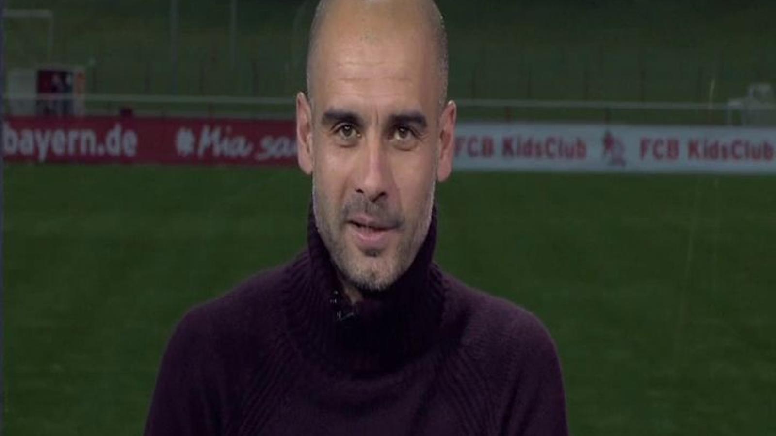 Pep Guardiola: Penseu que l'ARA va néixer amb el 5-0 del Barça-Madrid del 2010, ha d'anar be per força