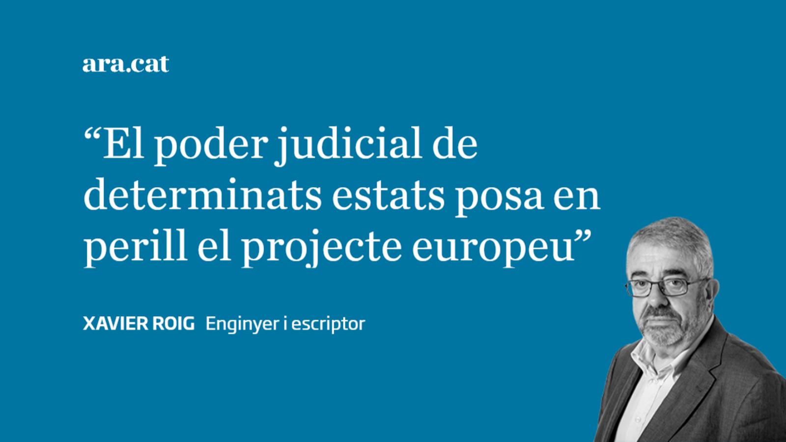 Regenerar el poder judicial de la mà d'Europa