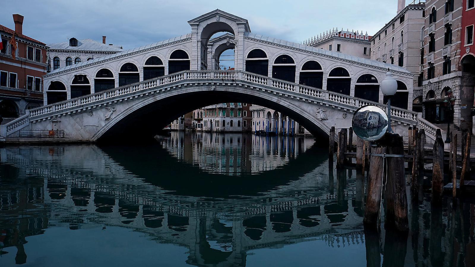 El confinament permet agafar aire  per repensar el futur de Venècia