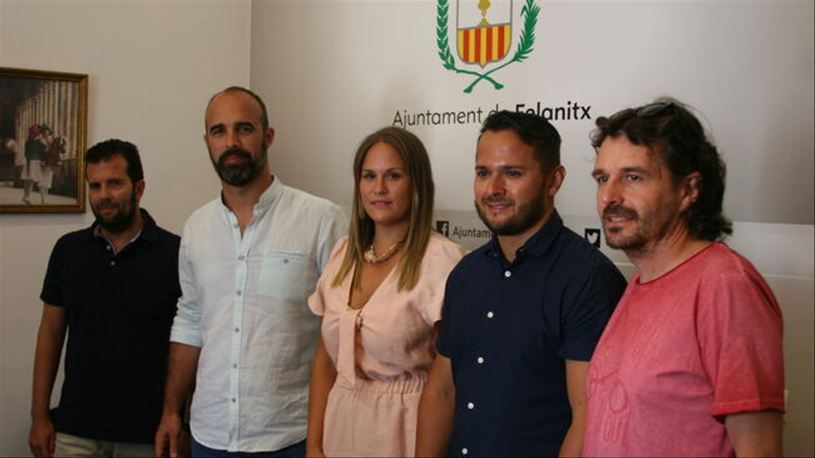 Membres de l'actual equip de govern de Felanitx./ M.BARCELÓ
