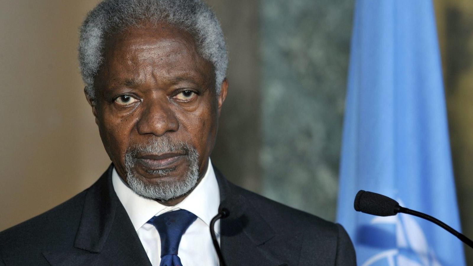 L'exsecretari de les Nacions Unides Kofi Annan en una imatge d'arxiu