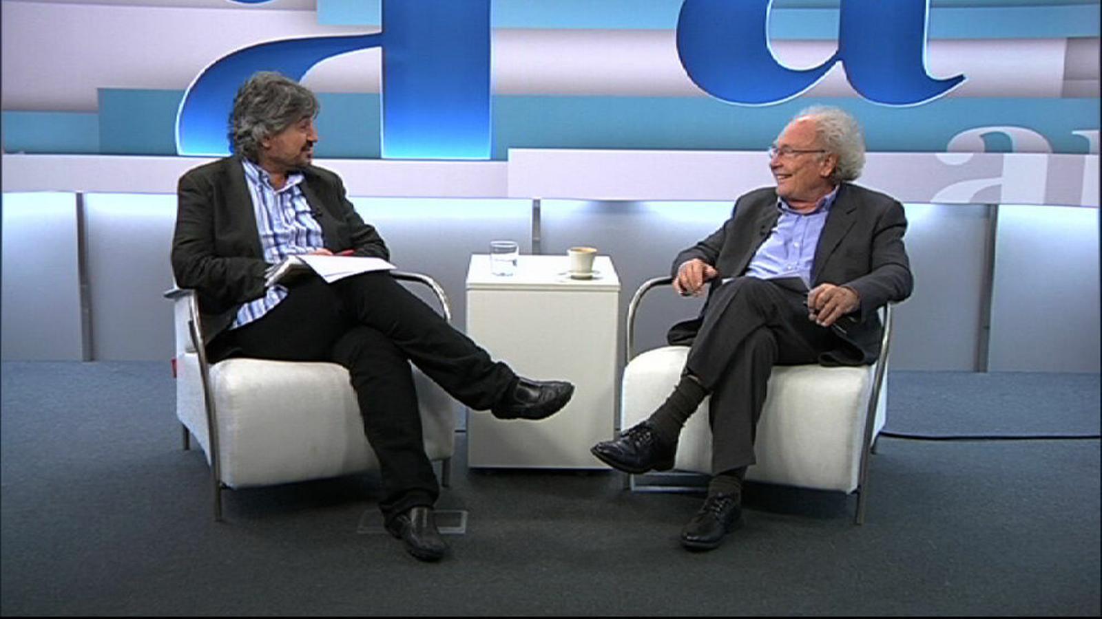"""Eduard Punset: """"El que compta no és el pensament racional, sinó la intuïció"""""""