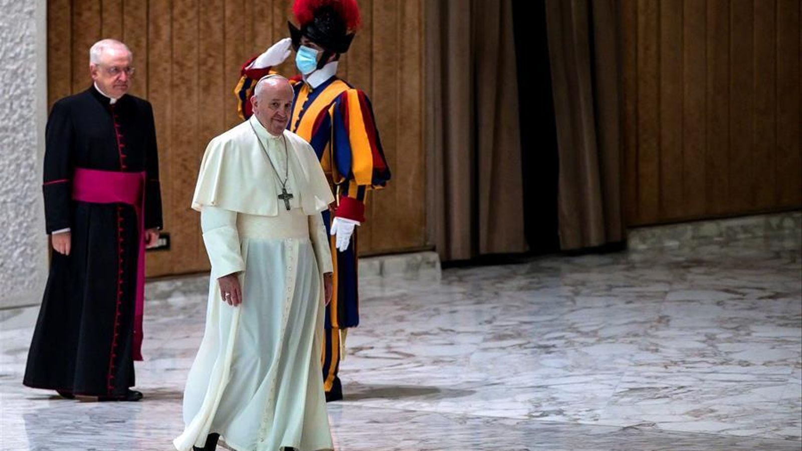 El Papa, en una audiència d'aquest dimecres al Vaticà