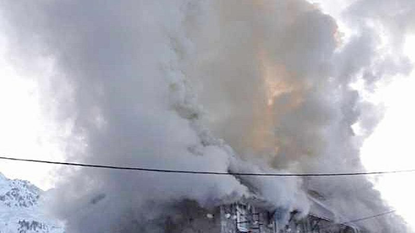 Imatge de l'incendi. / L'INDÉPENDENT