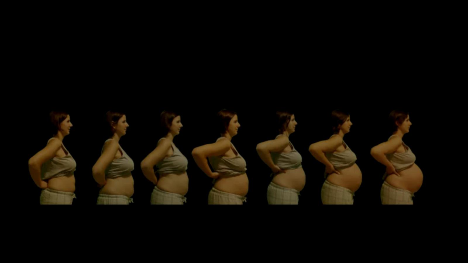 'Martina inside': un embaràs en imatges
