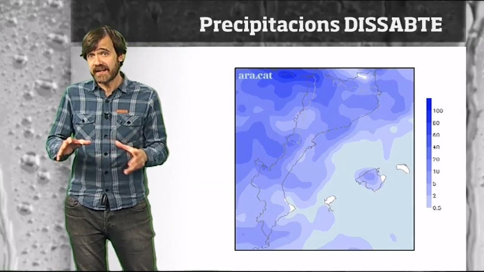 Méteo especial: un cap de setmana de pluges i nevades farà tornar l'hivern