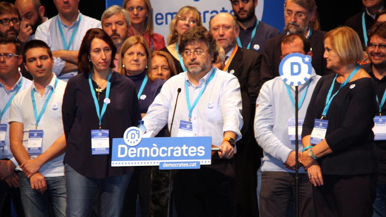 Antoni Castellà intervé en el congrés fundacional de Demòcrates de Catalunya / ACN