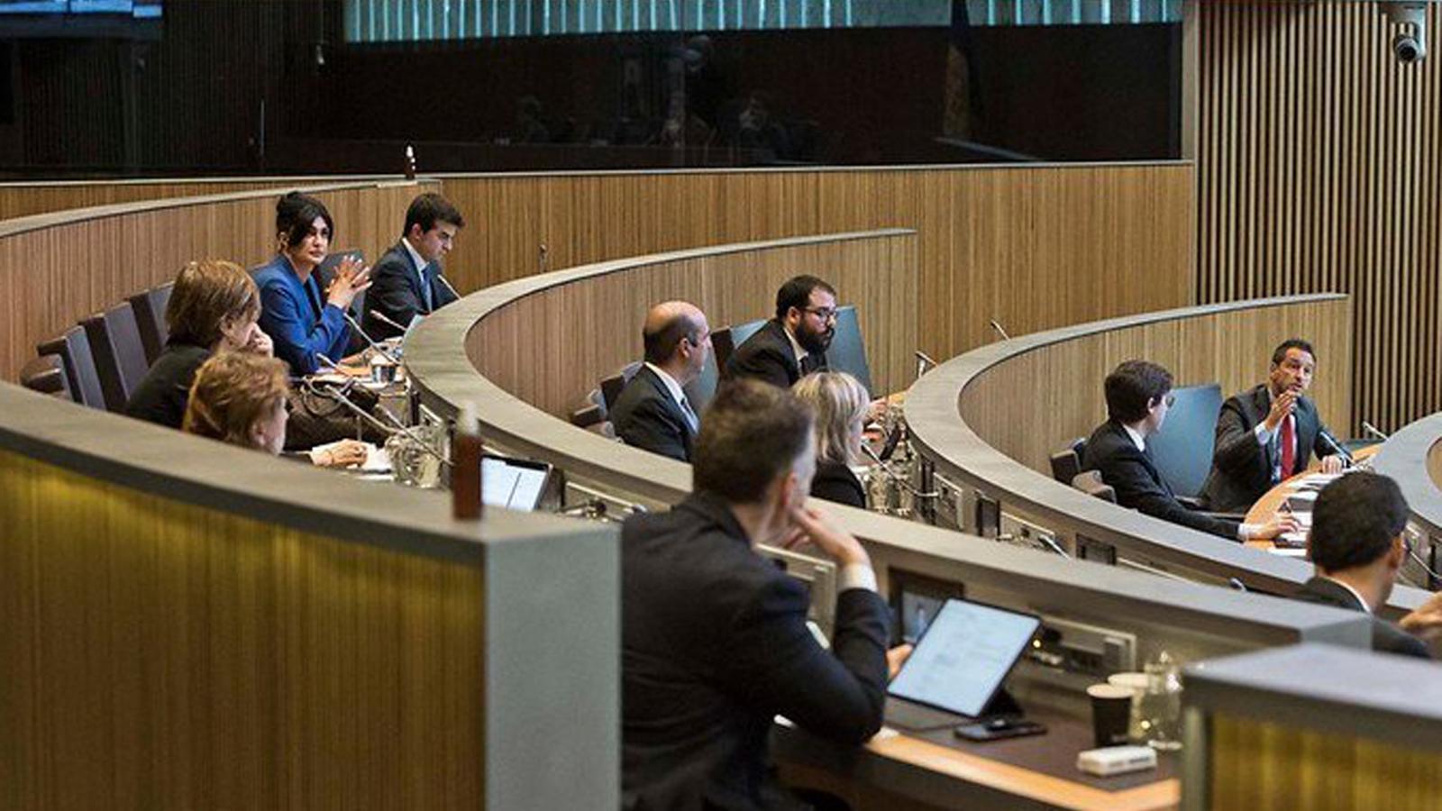 Un moment de la sessió de Consell General celebrada aquest dijous. / TWITTER CONSELL GENERAL