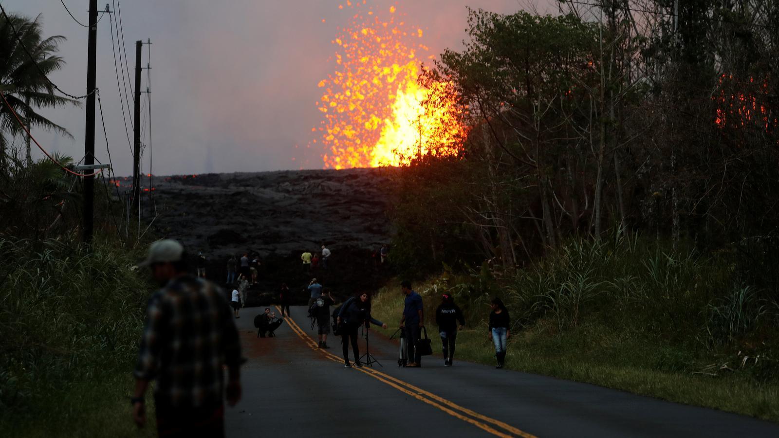 Un centenar de cases destruïdes pel Kilauea a Hawaii