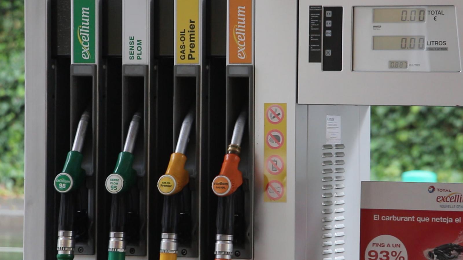 Els carburants han contribuït a l'augment de l'IPC. / ANA