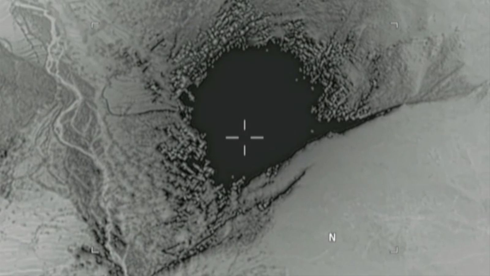 Així va ser l'impacte de 'la mare de totes les bombes'