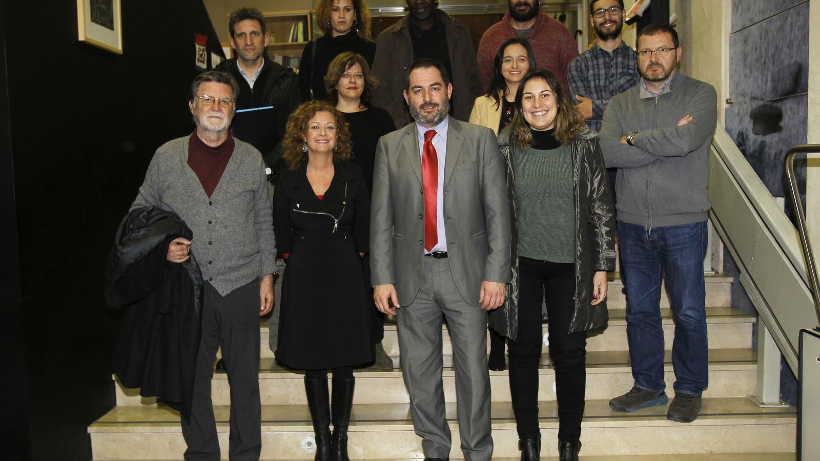 Josep de Luis presenta a Palma la seva candidatura per presidir l'Obra Cultural Balear