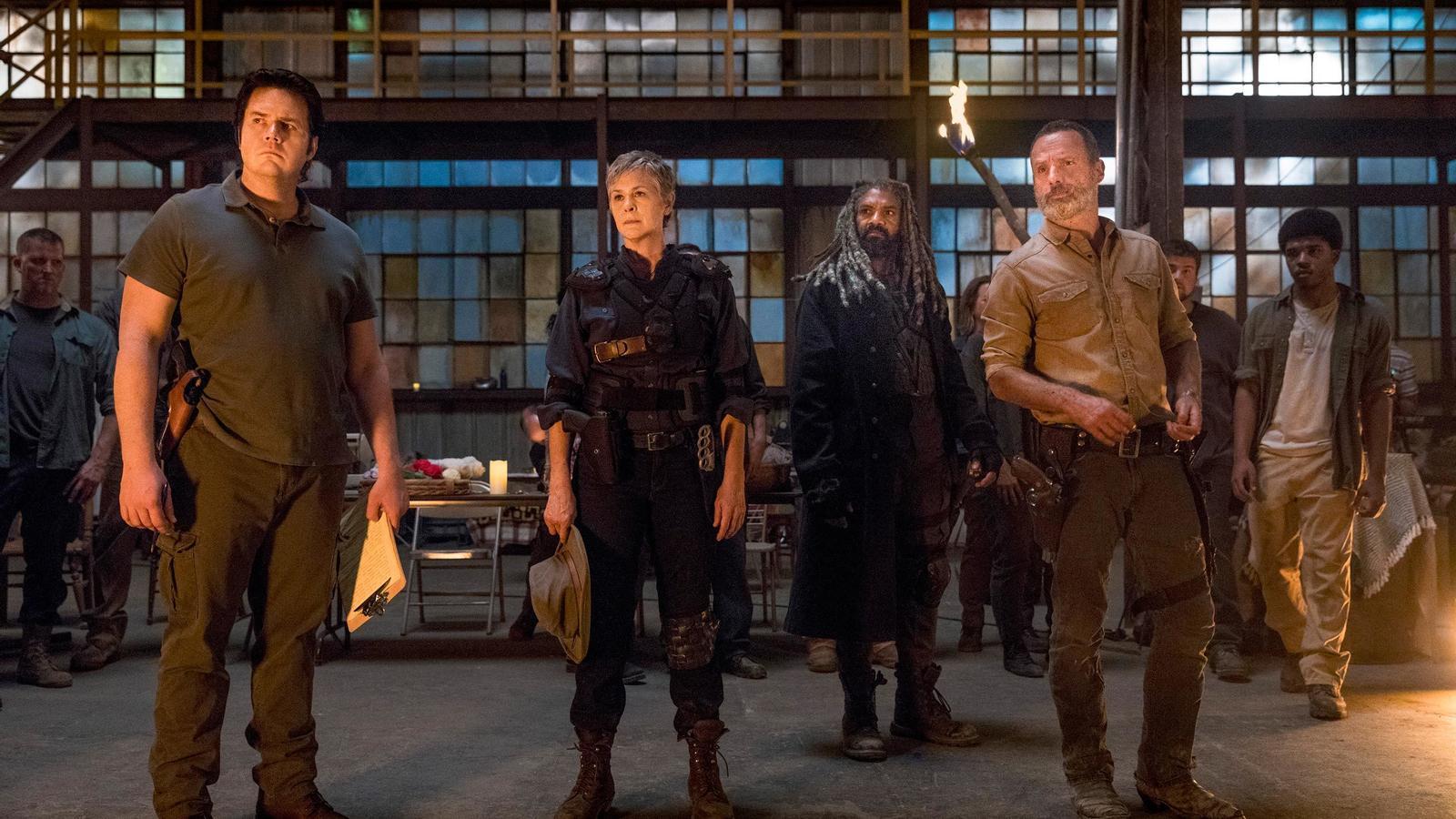 L'AMC vol allargar l'univers de 'The walking dead' deu anys més
