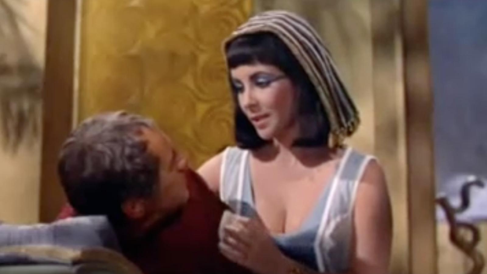 Elizabeth Taylor al seu gran èxit 'Cleopatra'