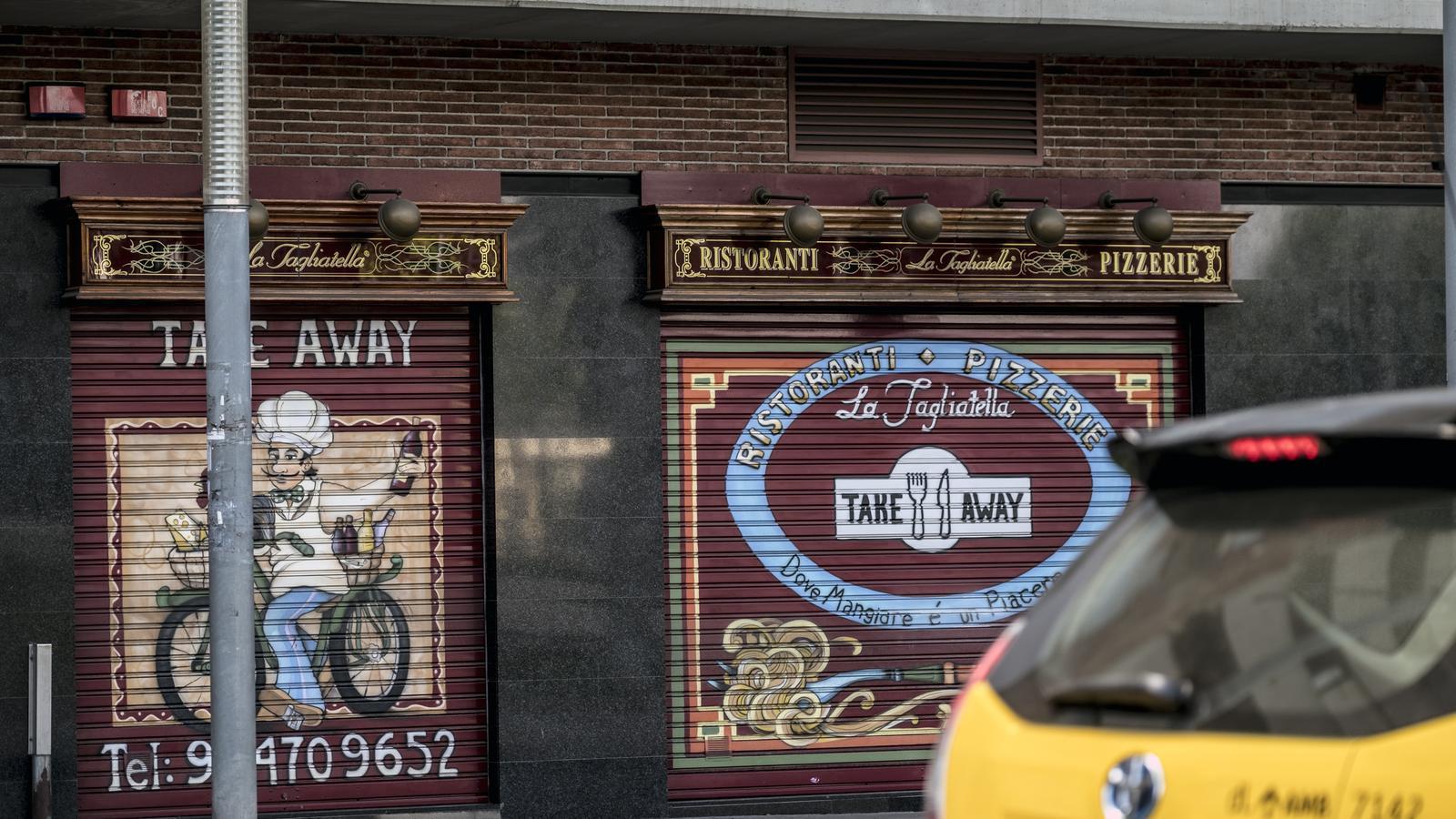 Els restaurants La Tagliatella, a la corda fluixa
