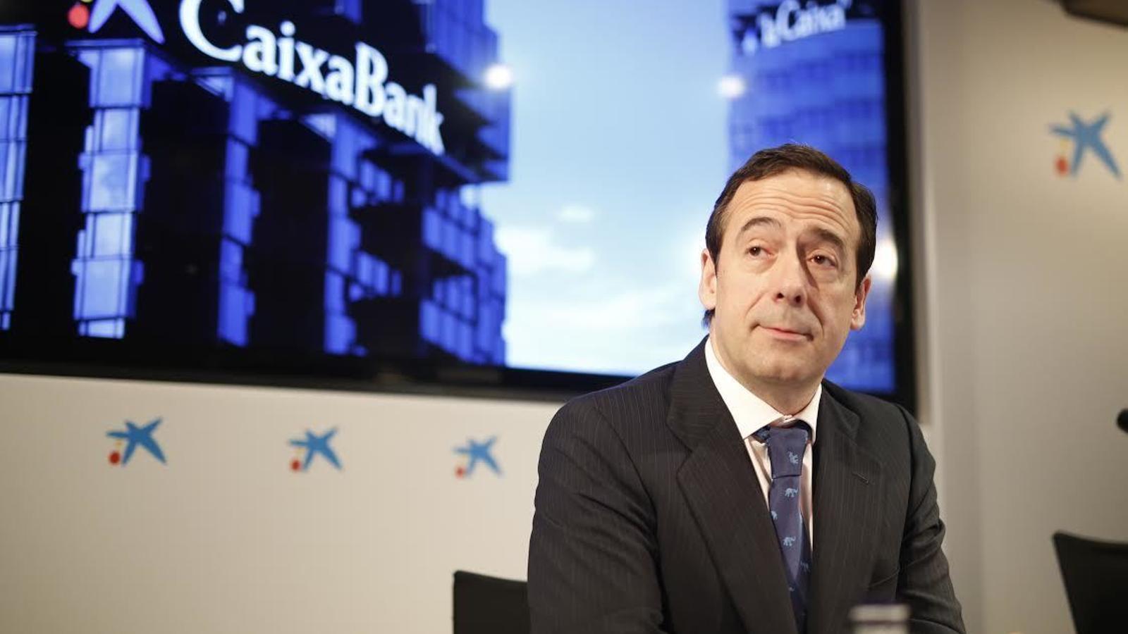 Gonzalo Gortázar, conseller delegat de CaixaBank.
