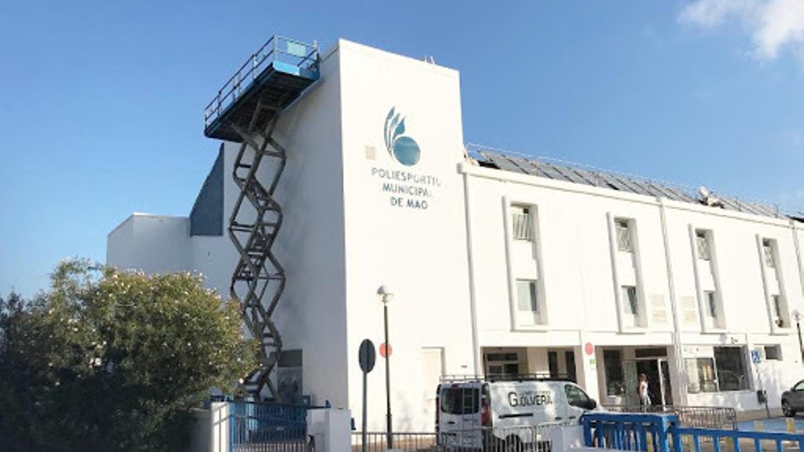 L'Ajuntament de Maó i el Consell de Menorca s'han coordinat per preparar la instal·lació en la lluita contra el coronavirus.