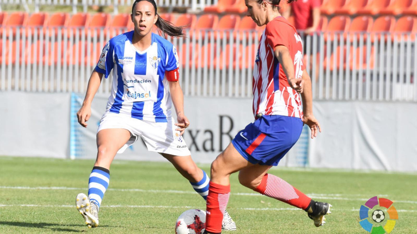 Meseguer i Anita, en el partit de la primera volta