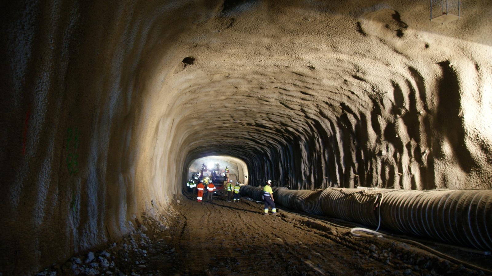 Iberpotash ja ha excavat els primers 200 metres del túnel