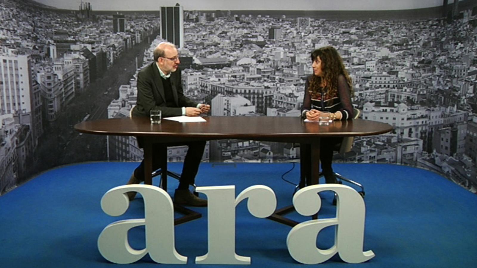 Entrevista d'Antoni Bassas a Katy Trias