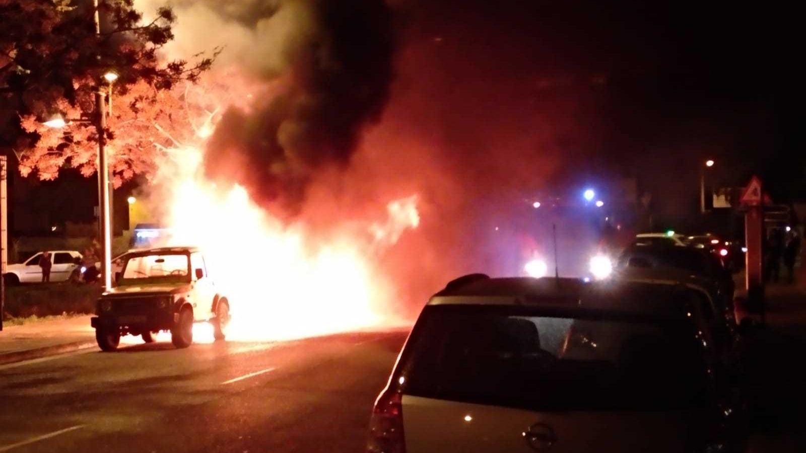 Els cinc detinguts pels incendis als contenidors de Palma actuaven de manera aïllada