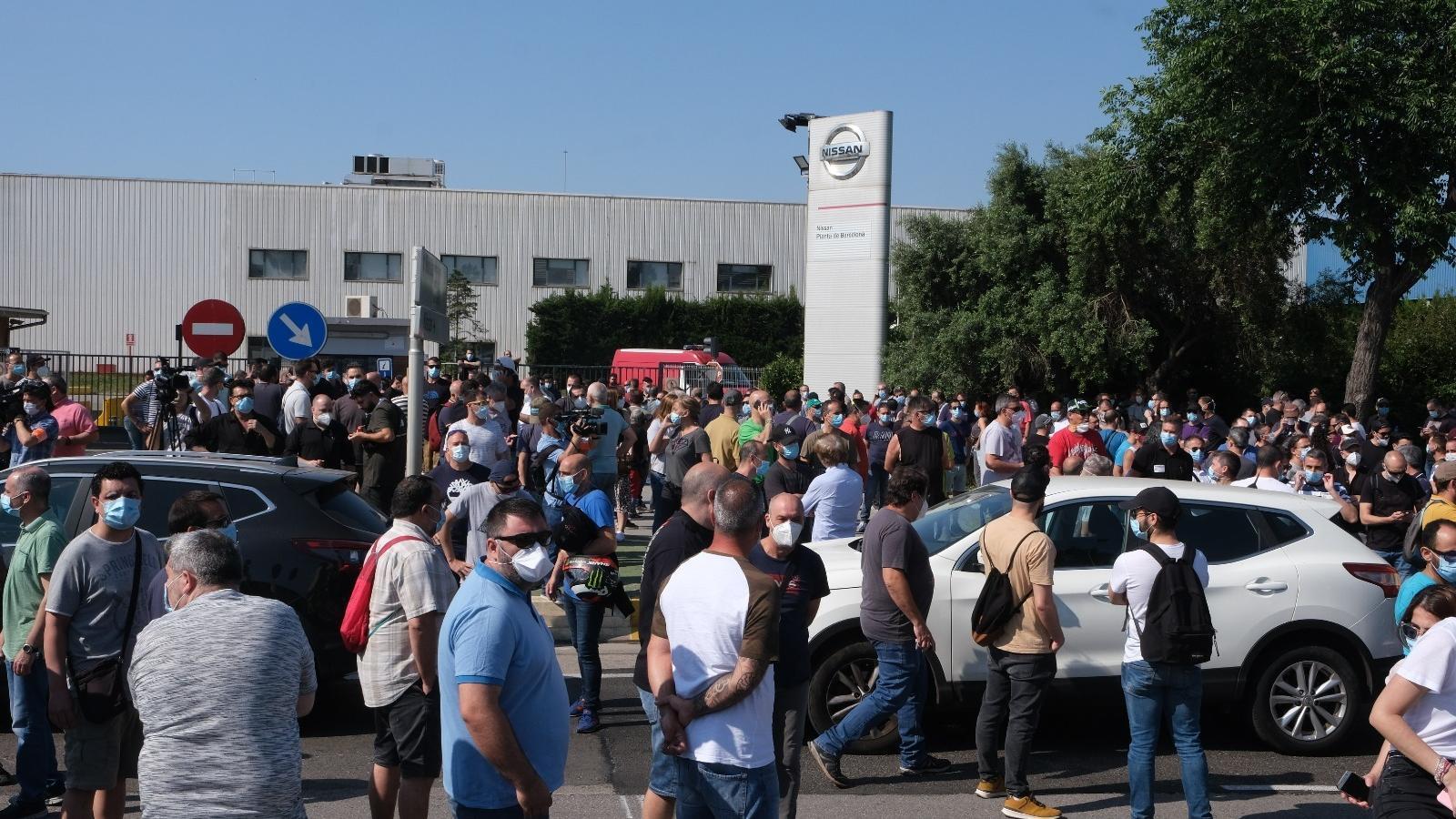 Nissan confirma el tancament de les plantes catalanes