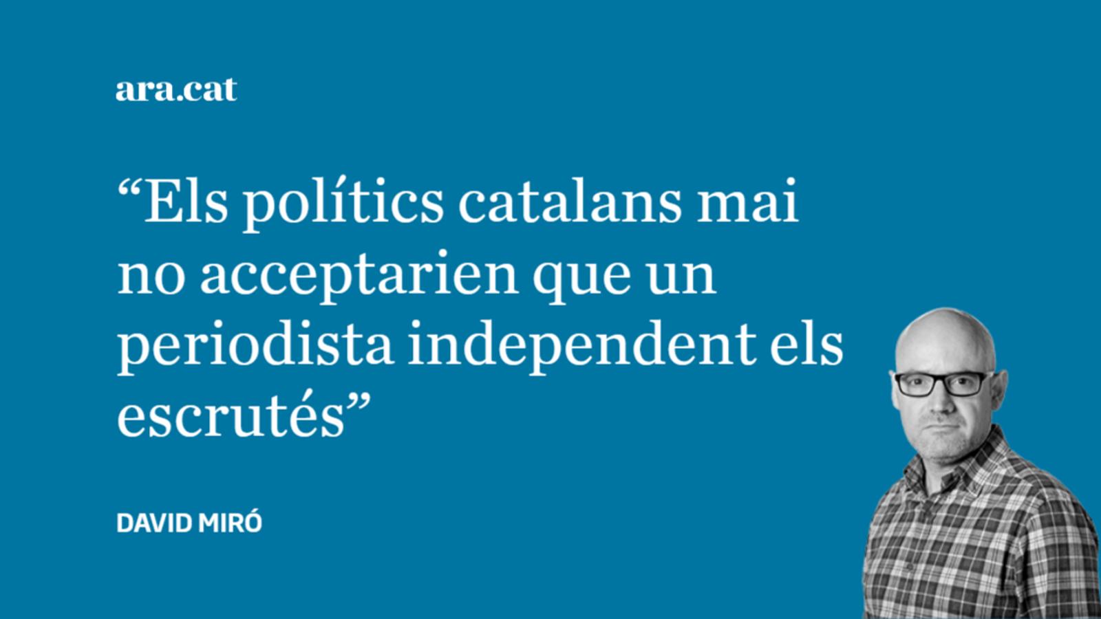 Per què no podem tenir un Bob Woodward català?