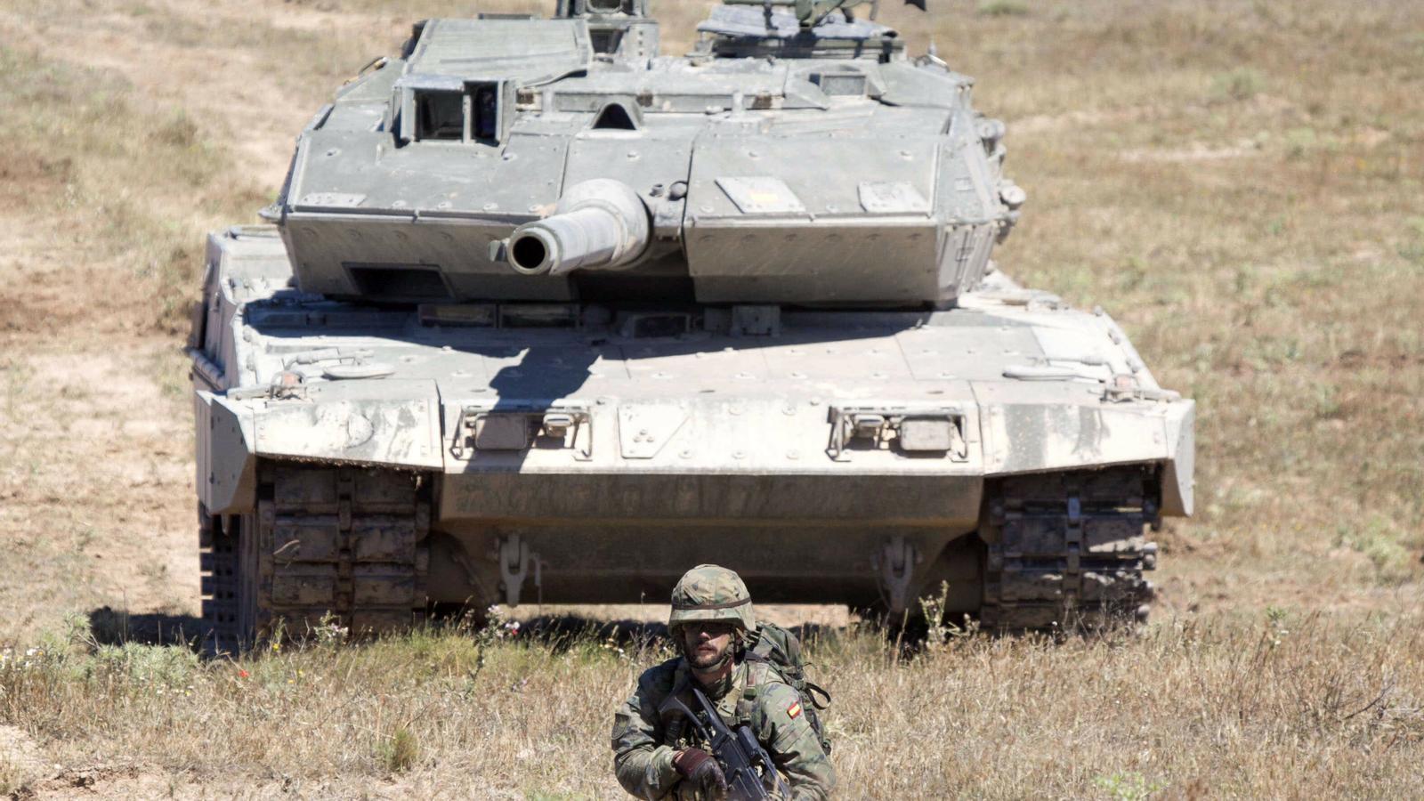Espanya ha multiplicat per quatre les exportacions d'armes en l'última dècada