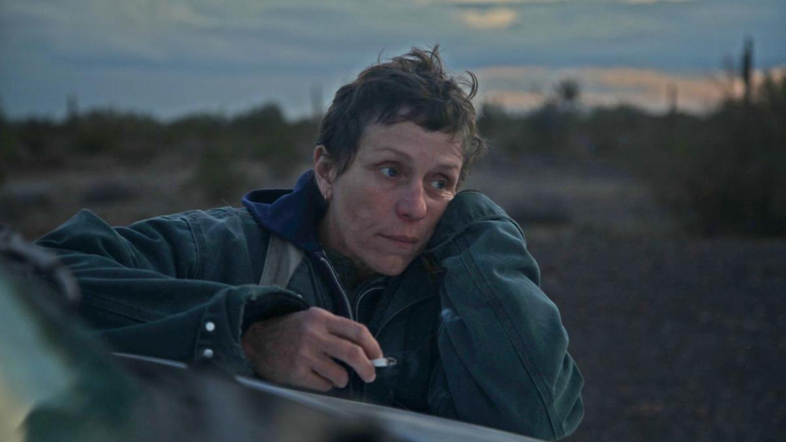 Frances McDormand a la pel·lícual 'Nomadland'