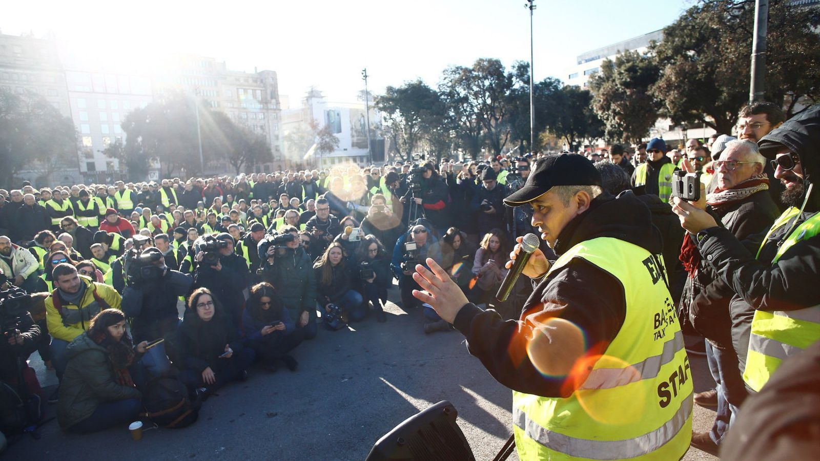 Els taxistes posen punt i final a la vaga