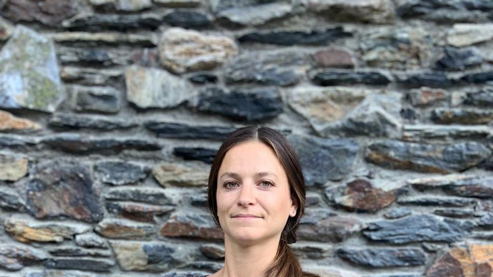 la nova presidenta de l'entitat Sara Toussaint.