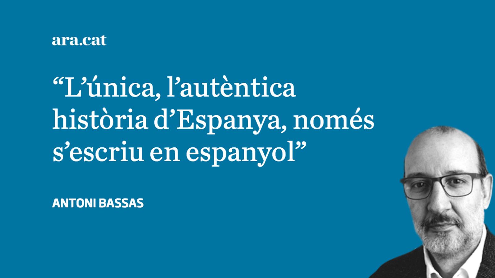 El nacionalisme espanyol separador