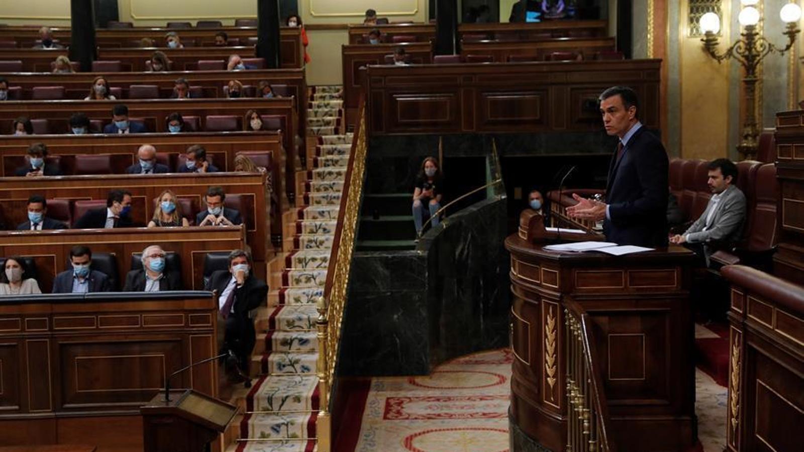 EN DIRECTE | La sessió de control al govern espanyol al Congrés